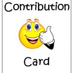 Contribution Card